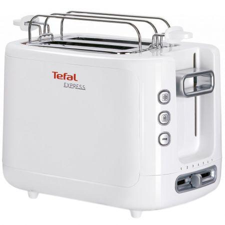 Prajitor de paine Tefal Express TT3601, 850 W, 2 felii, Alb