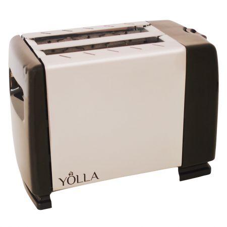 Prajitor de paine Yolla YO-122, grad de rumenire ajustabil, centrare automata a feliilor de paine, 800 W