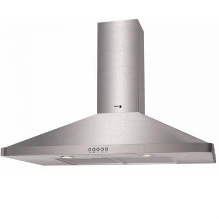 Hota decorativa Fagor CFP-90AXA, Putere de absorbtie 645 mc/h, 90 cm, Inox