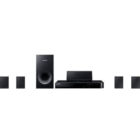 Sistem Home Cinema 5.1 cu Blu-ray Samsung HT-J4500, Negru