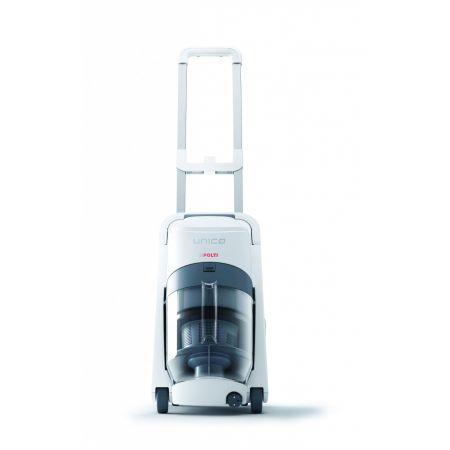 Aspirator Polti Unico MCV 70 Allergy Mulifloor &Windows, Filtrare Multiciclonica 5 Stadii, Functie Igienizare Abur si Uscare , 2350 W, Filtru Hepa, Verde