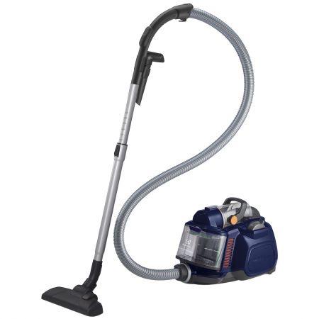 Aspirator fara sac Electrolux ZSPCCLASS, Tub telescopic, 750 W, Filtru Hygiene 12 lavabil, Albastru inchis